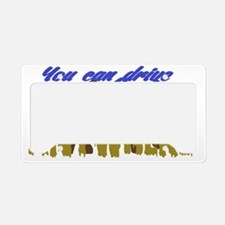 4X4 OFF ROAD License Plate Holder