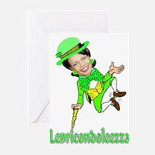 LepreCondoleezza Greeting Cards (Pk of 10)