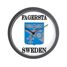 The Fagersta Store Wall Clock