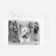 Skye Terrier Dog Greeting Cards