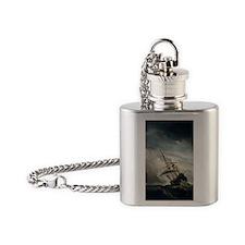 de_windstoot_stick Flask Necklace
