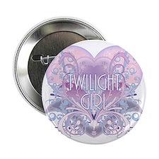 """twilight girl fancy heart 2 2.25"""" Button"""