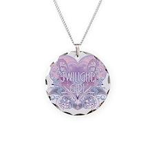 twilight girl fancy heart 2 Necklace