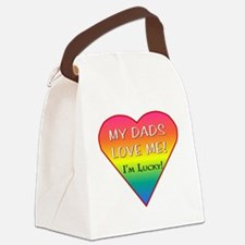 LGBT DADS Canvas Lunch Bag