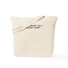 Unique Bloodied Tote Bag