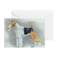 Wirehaired Fox Terrier Dog Greeting Cards
