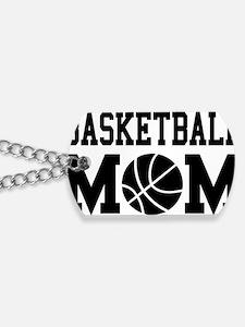 basketball-mom Dog Tags