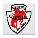 Medicine Bow Marshal Tile Coaster