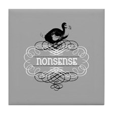 Alice in Wonderland Dodo Bird Tile Coaster
