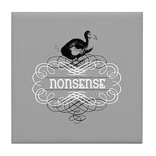 Alice in Wonderland Dodo Bird Tile Coaster