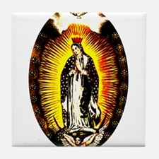 Our Lady of Guadalupe Tile Coaster