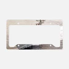 rjames greeting card License Plate Holder