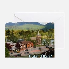 LakePlacidS MousepadT Greeting Card