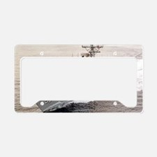 rjames large framed print License Plate Holder