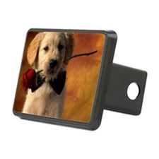GoldenRetriever12x16 Hitch Cover