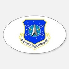 AF Space Command Oval Decal