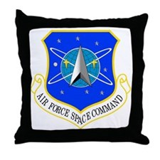 AF Space Command Throw Pillow