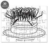 Happy birthday cake Puzzles