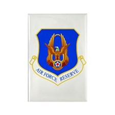 USAF Reserve Command Rectangle Magnet