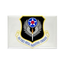 USAF Special Operations Command Rectangle Magnet