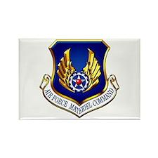 USAF Materiel Command Rectangle Magnet