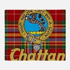 chattan tartan 10x10 Throw Blanket