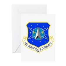AF Space Command Greeting Cards (Pk of 10)