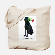 wuff you Tote Bag