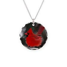 3-Windblown Cardinal 01 06 0 Necklace