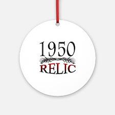 Relic 1950 Round Ornament