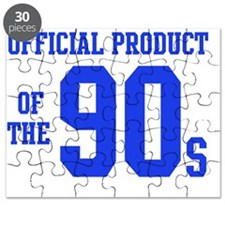 Official Product of the 90s (Blue) Puzzle