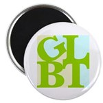 "GLBT Tropo Pop 2.25"" Magnet (100 pack)"