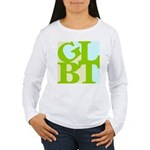 GLBT Tropo Pop Women's Long Sleeve T-Shirt