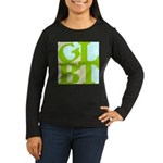 GLBT Tropo Pop Women's Long Sleeve Dark T-Shirt