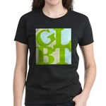 GLBT Tropo Pop Women's Dark T-Shirt