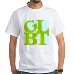 GLBT Tropo Pop White T-Shirt