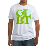 GLBT Tropo Pop Fitted T-Shirt