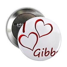 """I love Gibbs 2.25"""" Button"""