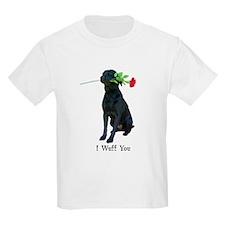 wuff you Kids T-Shirt