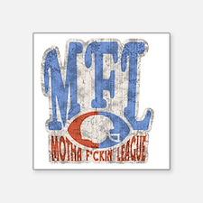 "MFL-logo-DKT Square Sticker 3"" x 3"""