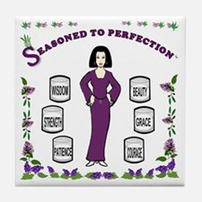 Edited-Seasoned to Perfection-BACKUP Tile Coaster
