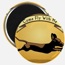 8x9_trvlbnd_flying_dog Magnet