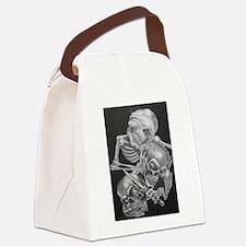 nichts,hören,sehen,reden Canvas Lunch Bag