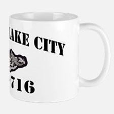 slcity black letters Mug