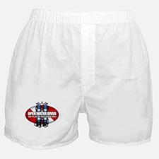 Open Water Diver (Scuba Tanks) Boxer Shorts