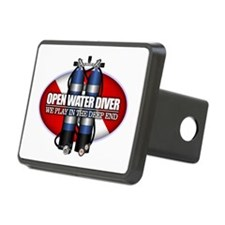 Open Water Diver (Scuba Tanks) Hitch Cover