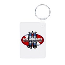 Open Water Diver (Scuba Tanks) Keychains