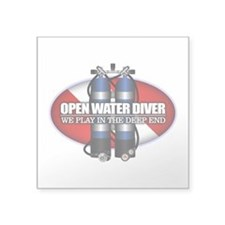 Open Water Diver (Scuba Tanks) Sticker
