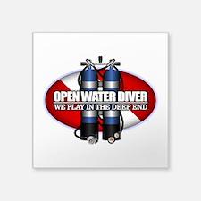 Open Water Diver (Scuba Tanks) Sticker