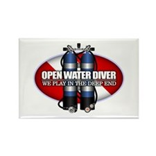 Open Water Diver (Scuba Tanks) Magnets